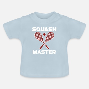 Playing Squash Master - Baby T-Shirt
