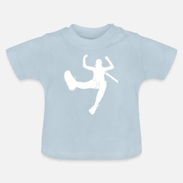 Jumping bungee jumping - Baby T-Shirt