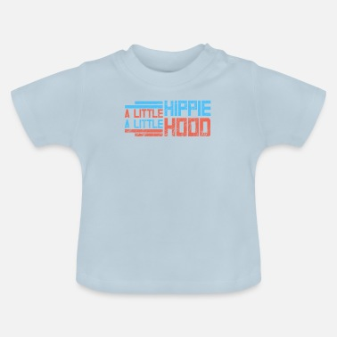 Hippie HIPPIES: Little Hippie Little Hood - Baby-T-shirt