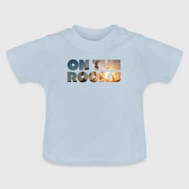 Mountain Bike - On the Rocks with your bike - Baby T-Shirt