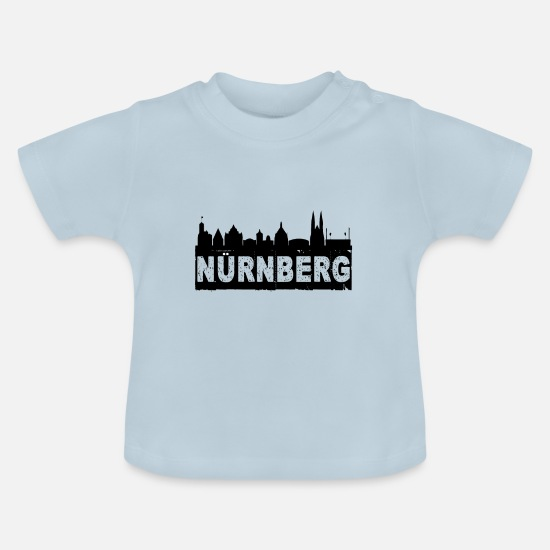 Nuremberg Baby Clothes - Nuremberg - Baby T-Shirt light blue