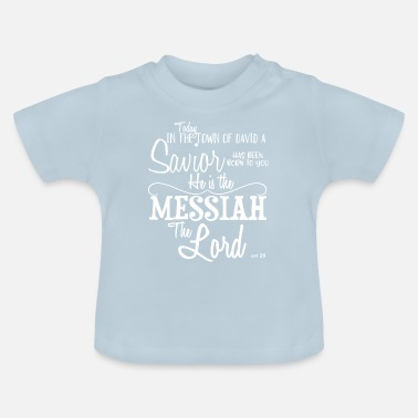 Christian Clothing Today in the town of David Christian gift - Baby T-Shirt