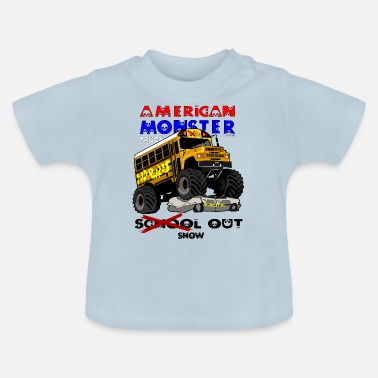 Truck Monster truck - T-shirt Bébé