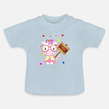 Contrast In contrast unicorn - Baby T-Shirt