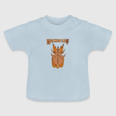 Walking Walking Leaf - Baby T-shirt