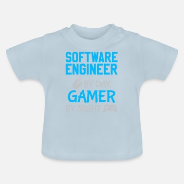 Software Gamer Software Engineer - Vauvan t-paita