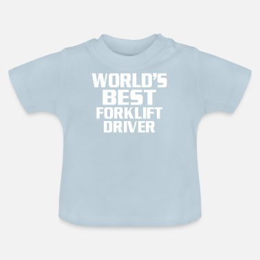 Drivers License Forklift driver's license - Baby T-Shirt