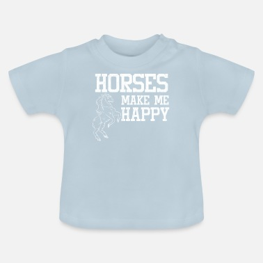 Stall Love horses stall riding - Baby T-Shirt