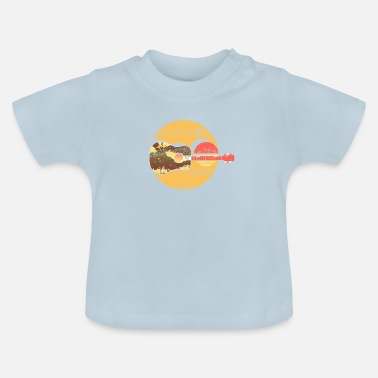 Acoustic Guitar Graphics - Baby T-Shirt