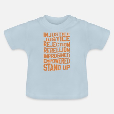 Injustice INJUSTICE REBELLION EMPOWERED - Baby T-Shirt