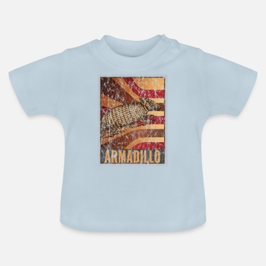 Zoogdier Retro Gordeldier Poster Distressed Look - Baby T-shirt