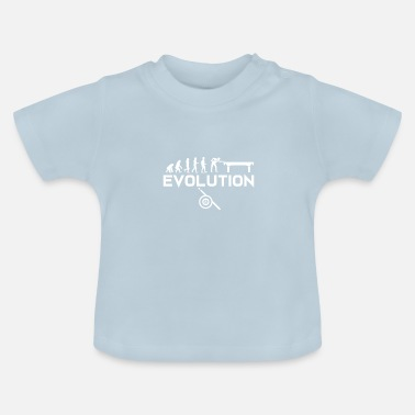 Réunion Cadeau de queue de billard · Evolution - T-shirt Bébé