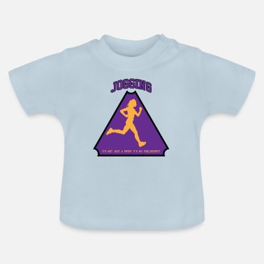 Health Jogging performance running health - Baby-T-shirt