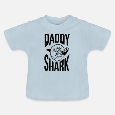 I Love Dad Vader Daddy Shark Super Dad Beste Daddy Hai Fish - Baby T-shirt