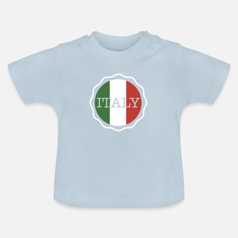 Italy Geschenk Urlaub Italien Flagge Italienisch Baby T Shirt