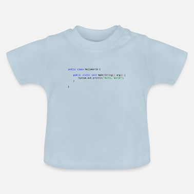 Java Hello World in Java - Baby T-Shirt