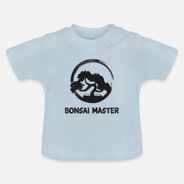 Buddhist Bonsai Master Cool Japanese Tree Planting Gift - Baby T-Shirt