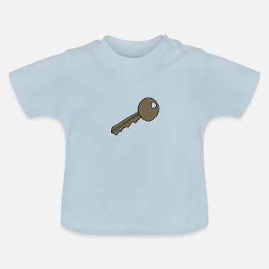 Sleutel, cartoon, cadeau idee - Baby T-shirt