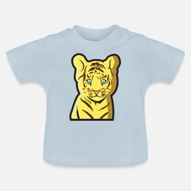 Tierkind Tiger als Tierkind - Baby T-Shirt