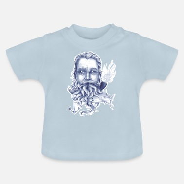 Breitbart Wise Bearded Sailor - Baby T-Shirt