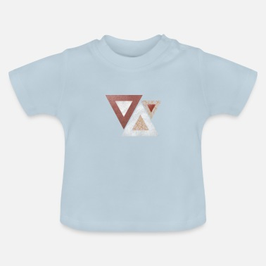 Triangle Triangles - Baby T-Shirt