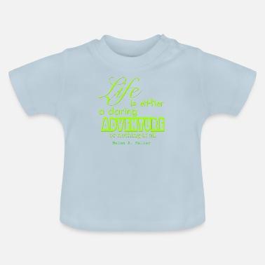 6cab3b1e0 Frase Frase - Helen A. Keller - Camiseta bebé
