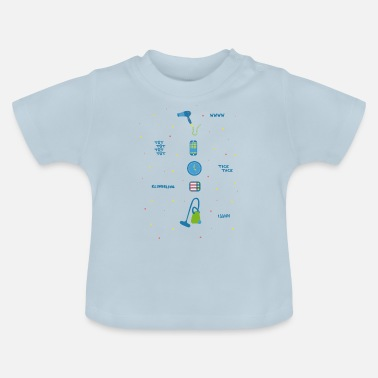 Sound Clothing Everyday sounds on kids clothes - Baby T-Shirt