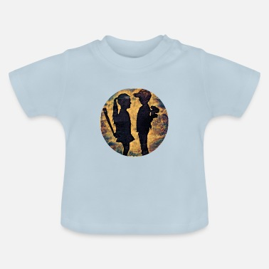 Silhouette silhouette - Baby T-Shirt