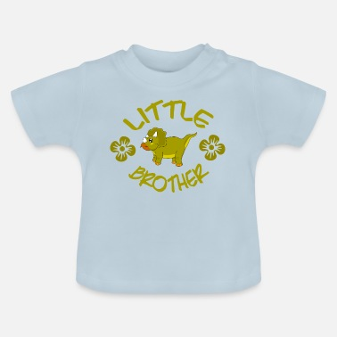 Little Brother Dinosaur Shirt ● Little Brother ● Gift - Baby T-Shirt