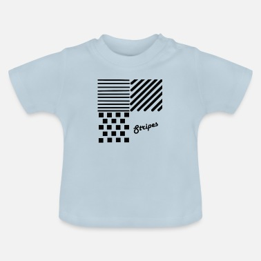 Strip Stripes, Stripes, Patterns - T-shirt baby