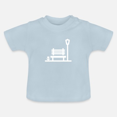 Bank Bank Landschaft - Baby T-Shirt