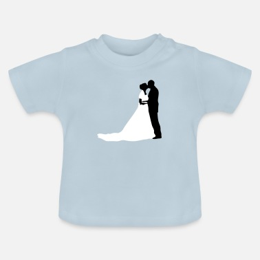 Romantic bride and groom 28 - Baby T-Shirt