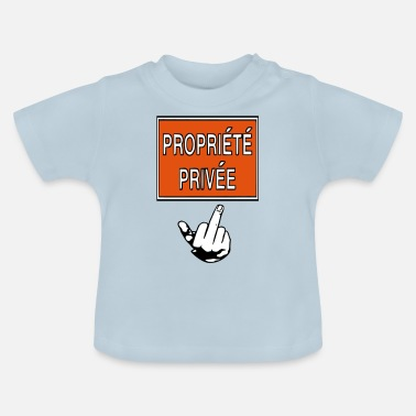 Privateer private property - Baby T-Shirt