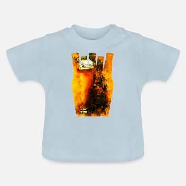 Wheat Beer gxp refreshing yeast wheat beer water color - Baby T-Shirt