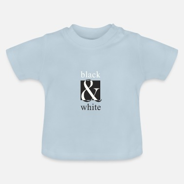 White black and white, black and white - Baby T-Shirt