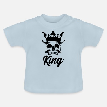 Wereld King of hell King of hell - Baby T-shirt