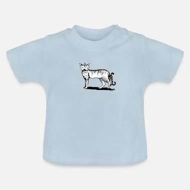 two headed cat - Baby T-Shirt