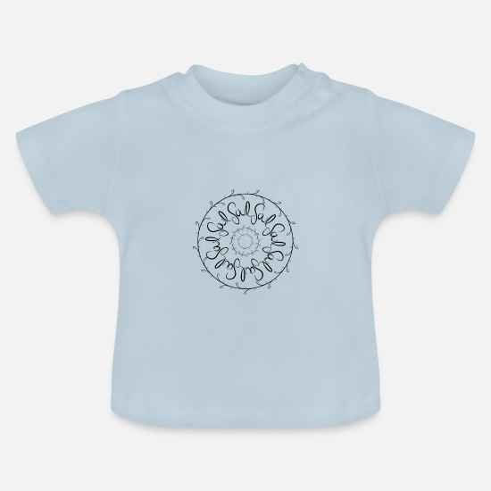 Healing Baby Clothes - soul - Baby T-Shirt light blue