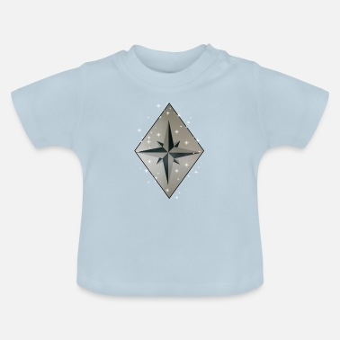 Wind Wind Rose - Baby-T-shirt