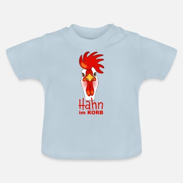 Basket Rooster in the basket - Baby T-Shirt