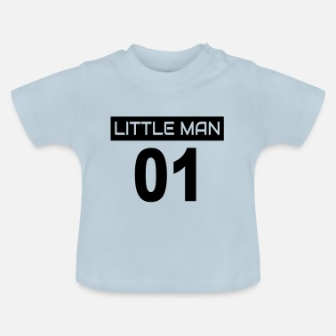 Man Deel 2: Big Man 01 + Little Man 01 / broers en zussen - Baby T-shirt