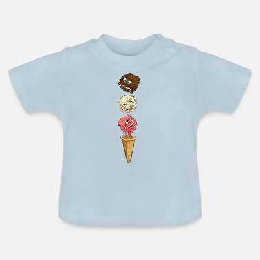 Monster Monster Eis - Baby T-Shirt