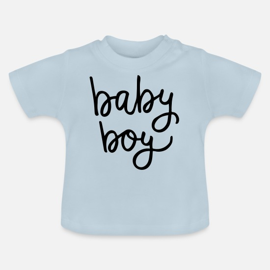 Baby Shower Baby Clothes - Baby boy - Baby T-Shirt light blue