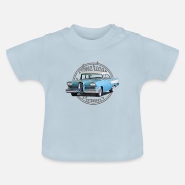 Muscle American Power Vintage Shield 1 - Baby T-Shirt