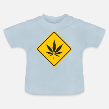 Cannabis Shield - Cannabis - Maglietta neonato