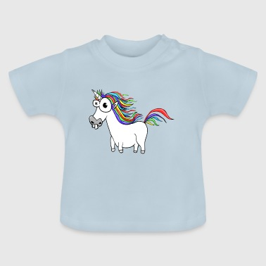 Unicorn Unicorn Cartoon Funny - Baby T-shirt