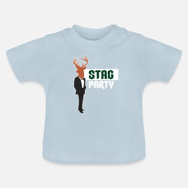 Stag Bachelor Party Bachelor JGA Gift Cool - Baby T-Shirt