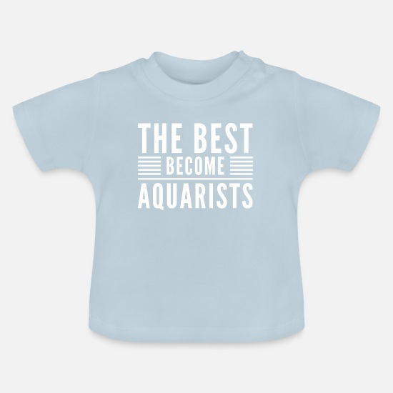 Aquarium Vêtements Bébé - Aquariophilie Aquarium Aquarium Aquarium Poissons d'ornement - T-shirt Bébé bleu clair