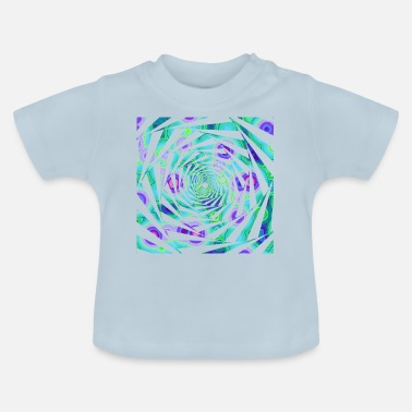 Spiral-Psychedelia - Baby T-Shirt
