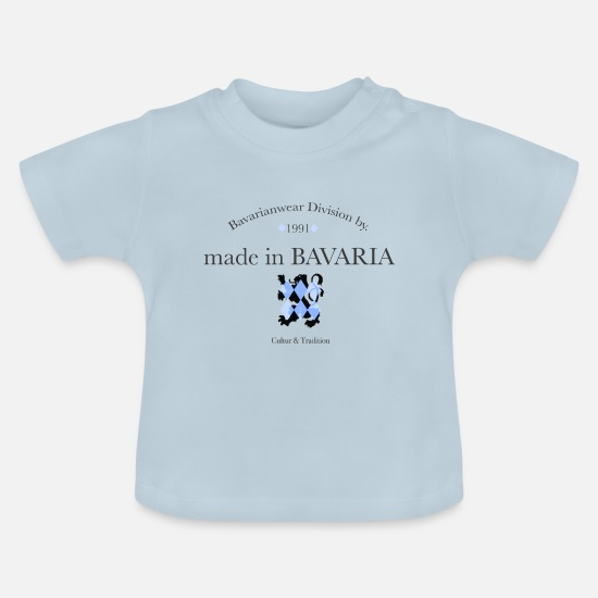 Love Baby Clothes - made in bavaria - Baby T-Shirt light blue